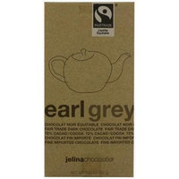 Jelina Chocolatier 3.35 oz. Dark Chocolate Bar Earl Grey Case Of 8