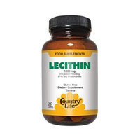 Country Life - Lecithin 19 Grain 1200 mg. - 100 Softgels