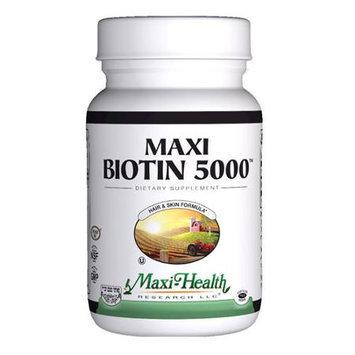 Maxi Health Kosher Vitamins Maxi Biotin 5000 - 60 Capsules