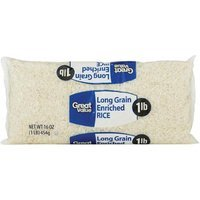 Great Value: Long Grain Enriched Rice, 16 Oz