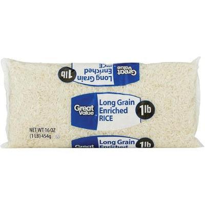Great Value: Long Grain Enriched Rice, 16 Oz