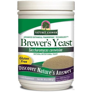 Nature's Answer Brewer's Yeast 16 oz - Vegan