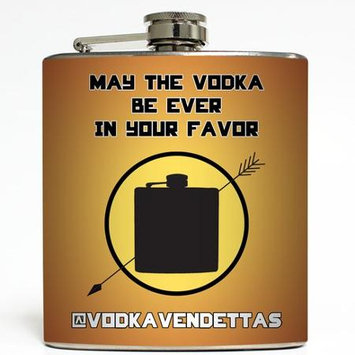 Be Ever In Your Favor - Liquid Courage Flasks - 6 oz. Stainless Steel Flask