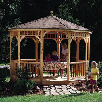 Heartland Seaside 10' Round Gazebo Without Floor 199448