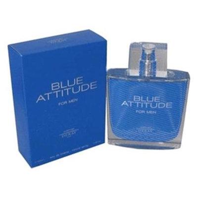 Parfums Deray Blue Attitude by Deray, 3.4 oz Eau De Toilette Spray for Men