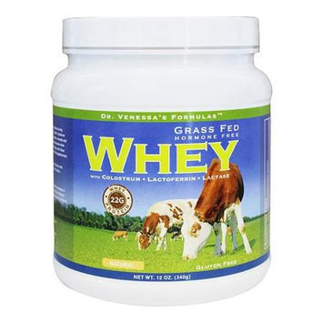 Dr. Venessas Formulas Dr. Venessa's Formulas - Grass Fed Hormone Free Whey Natural Flavor - 12 oz.