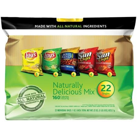 Frito-Lay Variety Pack Naturally Delicious Mix