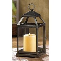 Koehler Home Decor Decorative Christmas Seasonal Bronze Contemporary Centerpiece Candle Lantern