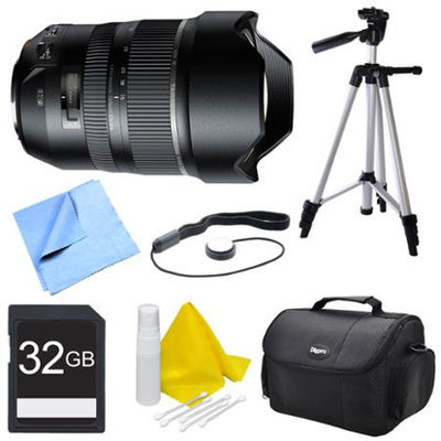 Tamron A012 SP 15-30mm F/2.8 Ultra-Wide Angle Zoom Di VC USD Lens for Canon Bundle