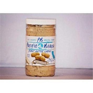 Pacific Beach Peanut Butter 020482 White Chocolate Peanut Butter Spread - Case Of 6