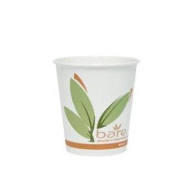 Solo Cup Company 410RC Bare Pcf Paper Hot Cups 10 Oz 1000/carton