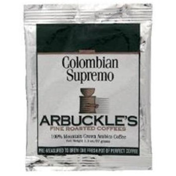Arbuckle's Coffee - Colombian Supremo - 1.3 oz, (Pack of 10)