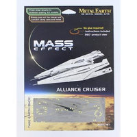 Fascinations Metal Earth 3D Laser Cut Model Mass Effect Alliance Cruiser