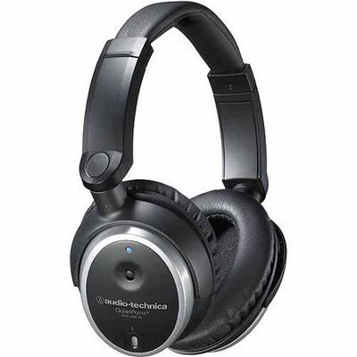 Retail Solutions Audio-technica - Ath-anc7b Quietpoint Active Noise-cancelling Closed-back Headphones - Black