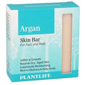 Plantlife Natural Body Care - Skin Bar Soap For Face & Body Argan - 4.5 oz.
