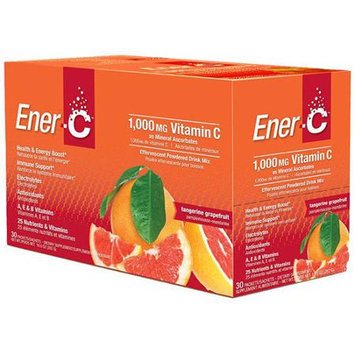 Ener-C Vitamin C Tangerine Grapefruit 30 Packets