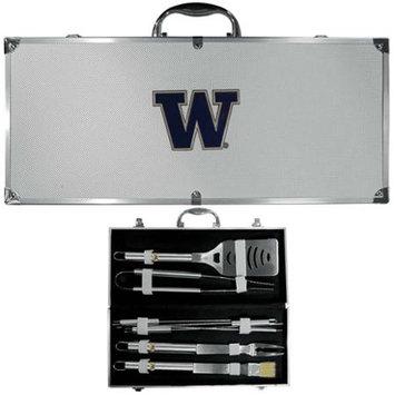 Siskiyou Buckle Co., Inc. NCAA Team Logo Barbecue Tool Set - Washington Huskies