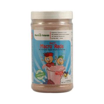 MacroLife Naturals Inc. Macro Berri Reds 15 Day - 3.3 Ounces Powder - Other Green / Super Foods