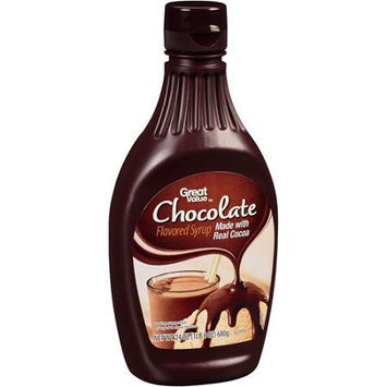 Great Value: Chocolate Flavored Syrup, 24 oz