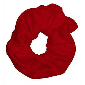 Coveryouhair CoverYourHair 61326 Soft Classy Solid Scrunchy Red