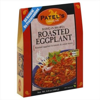 Patel Baigan Bharta Eggplnt W/Tom On -Pack of 10