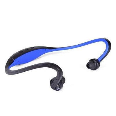 Behind-the-Neck Sporty Durable Bluetooth v3.0 Wireless Earphones Headset-Black