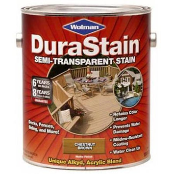 RustOleum 252578 DuraStain Semi-Transparent ~ Chestnut Brown, Gallon