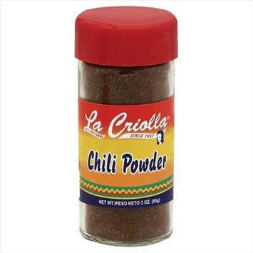 La Criolla 3 oz. Chili Powder Case Of 12