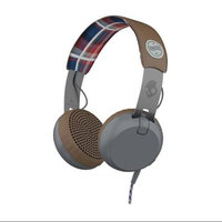 Skullcandy Grind Headphones Americana/Plaid/Gray, One Size