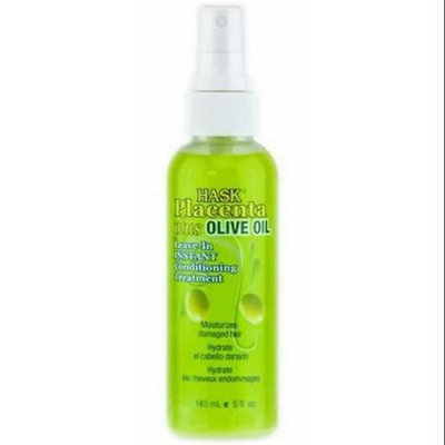 Hask Placenta Plus No-Rinse Instant Hair Repair Treatment with Olive Oil