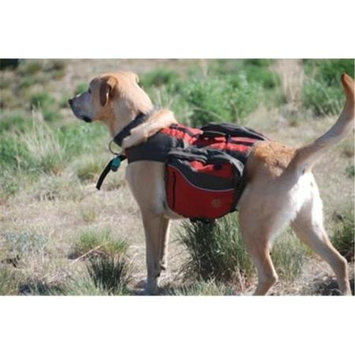 Henry & Clemmie's Llc Henry and Clemmies Dog Travel Pack Small Red