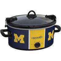 University Of Michigan NCAA Crock-Pot® Cook & Carry 6-Qt. Slow Cooker