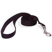 Aspen Pet 20010 - 4'X1 inch Nylon Single Black Leash