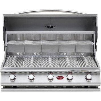 Cal Flame Grill Accessories. Gourmet Series 5-Burner Built-In Stainless Steel Propane Gas Grill