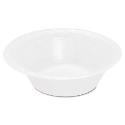 SOLO Cup Company SLOFSFB12 Foam Bowl, 12 oz, White, 1000 Per Carton