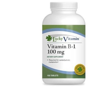 LuckyVitamin - Vitamin B-1 100 mg. - 100 Tablets