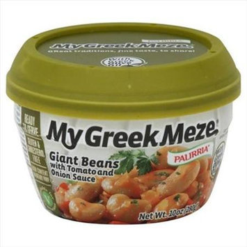 Palirria 10 oz. My Greek Meze Giant Beans With Tomato And Onion Sauce - Case Of 6