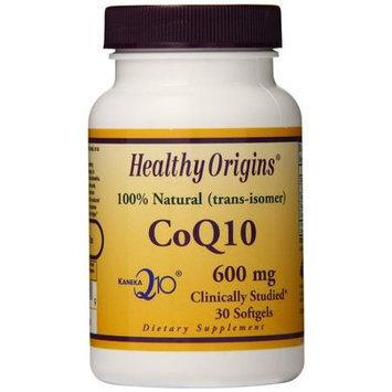 Healthy Origins CoQ10 - 600 mg - 30 Softgels