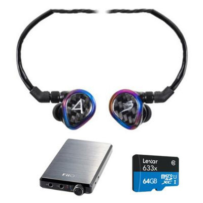 Astell & Kern JH Audio Special Edition Layla Headphones, Black w/ FiiO E12 Pro Amps Bundle