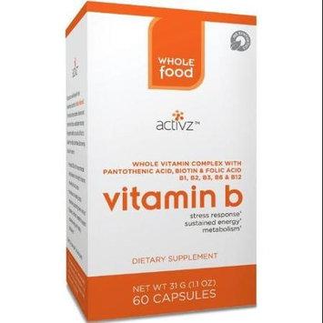 Activz - Whole Food Vitamin B - 60 Vegetarian Capsules