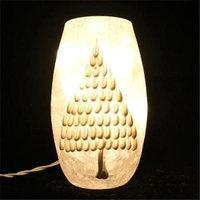 DecorFreak Lighted Glass Jar - White Christmas Tree