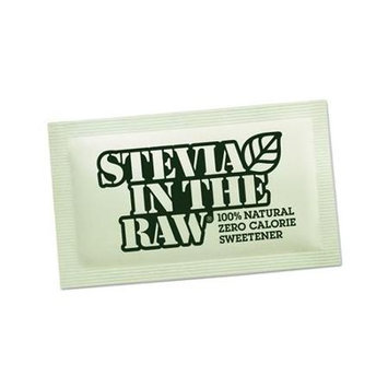 Stevia in the Raw Sweetener .035oz Packet 200/Box 2 Box/Carton (Stevia in the Raw 76014 CASE)