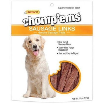 Ruffin It Ruffin' It Chomp'ems 11-Ounce Sausage Link Dog Treats