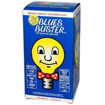 Blues Buster Light Bulb-Frosted 100 Watt 1 Each