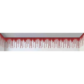 Forum Novelties Haunted House Blood Dripping Backdrop Wallpaper Roll Decoration Prop