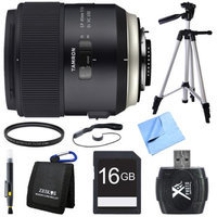 Tamron SP 45mm f/1.8 Di VC USD Lens for Nikon Mount Bundle