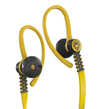 Dvd Flex Stereo Earphones Apple (Yellow)