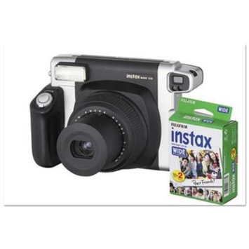 Fuji Instax Wide 300 Camera Bundle, 16 MP, Auto Focus, Black