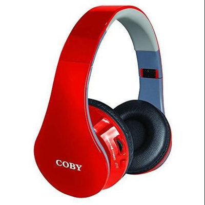 Coby COUNTOUR Wireless Bluetooth Over-The-Ear Headphones