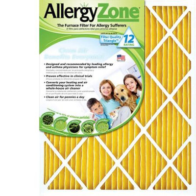 Allergyzone Az1625 Furnace Air Filter